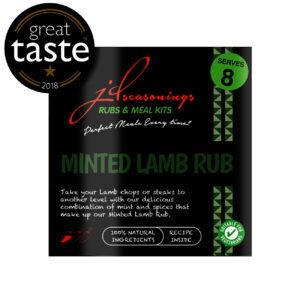 JDSeasonings minted lamb rub